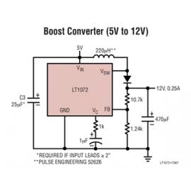 LT1072HV 1.25A High Efficiency Switching Regulator